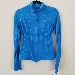 Zella | Full Zip Blue jacket size small